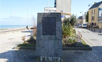10th Canadian Armoured Regiment Memorial Saint-Aubin-sur-Mer