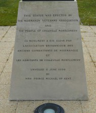 General Montgomery Monument close-up