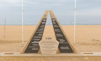 D-Day 70th Anniversary Memorial Sword Beach