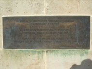 Memorial to Danish Seamen - Plaque