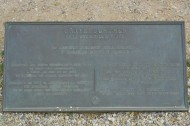 Graye-sur-Mer Churchill AVRE tank plaque