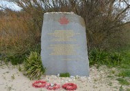 Graye-sur-Mer tribute to the Canadian Infantry