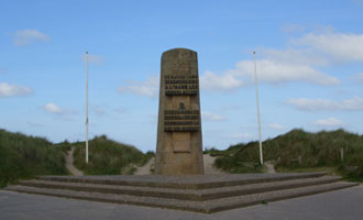 2nd French Armored Division Landings Monument