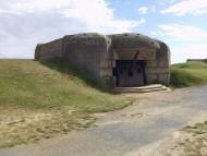 Casemate at Longues-sur-Mer battery