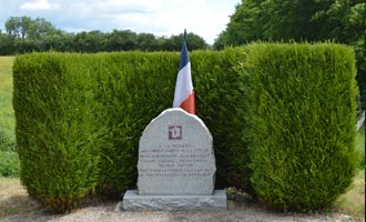 Memorial to combatants of the 2nd French Armoured Division