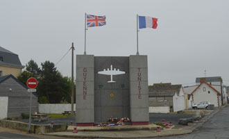 Memorial to French Bomber Crews