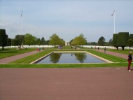 Reflecting Pool at Normandy American Cemetery