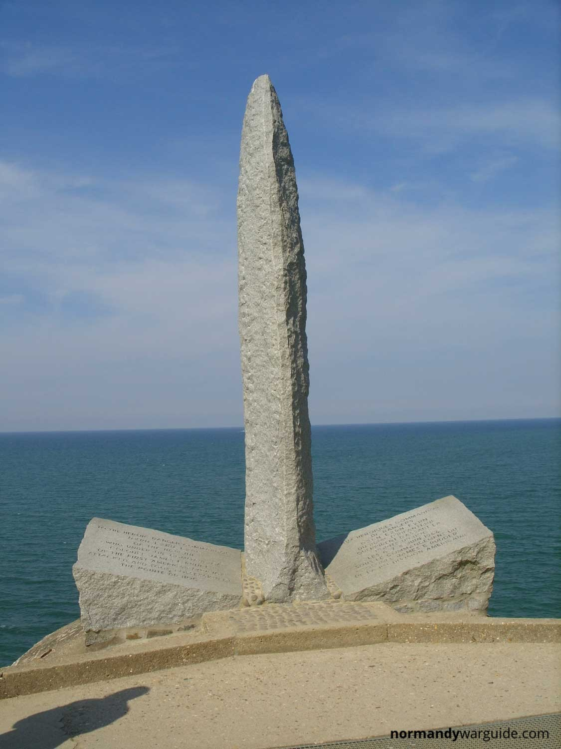 How Many Miles From >> Pointe du Hoc » Normandy War Guide