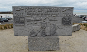 Port en Bessin oil port memorial