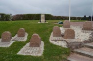 Sword Beach French Commando Stones