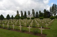 Urville-Langannerie Polish Military Cemetery graves